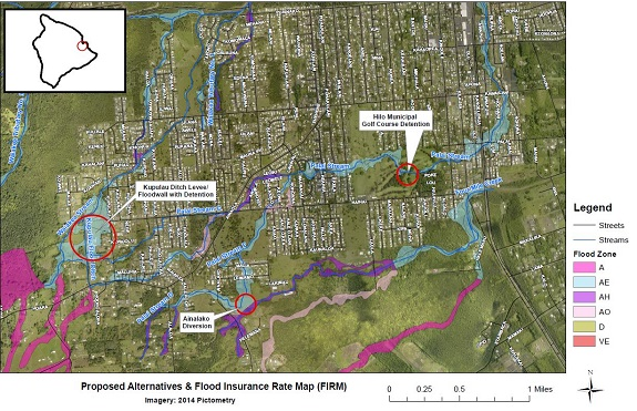 Waiakea Palai Stream Flood Control Project map - Copy