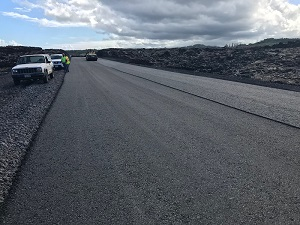 Highway 132 Paving Finished