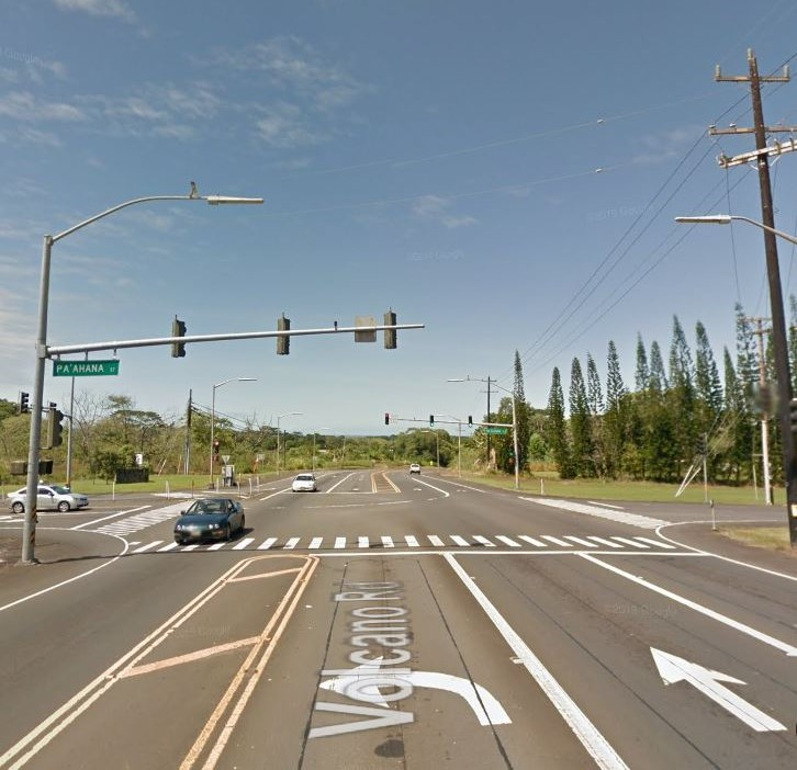Traffic Signal Work Slated for Kea'au Intersection Sunday, February 23