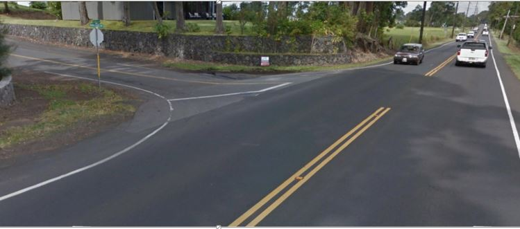 Māmalahoa Highway in Waimea Reduced to One Lane of Travel May 31 - June 5