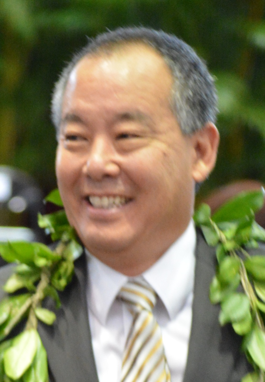 Council Chairman Aaron Chung